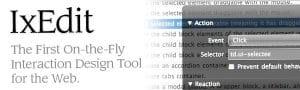 IxEdit, créer des animations et des intéractions avec jQuery sans une ligne de code