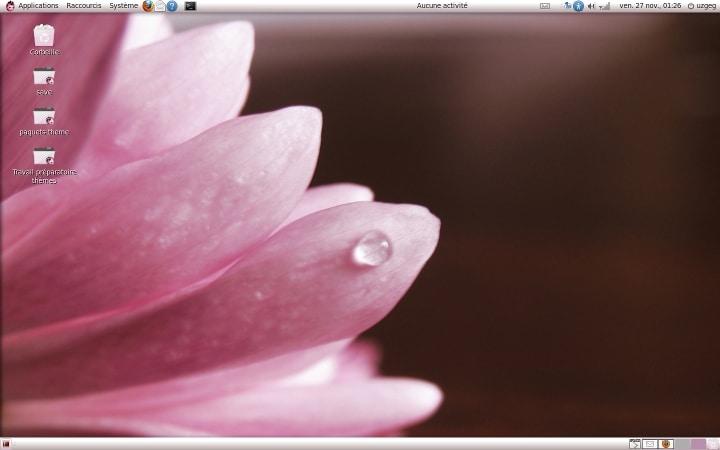 Capture 2 du thème Ubuntu Ellanna