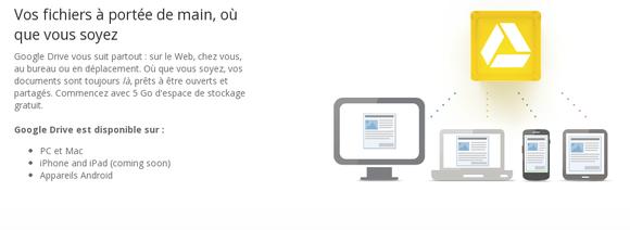 Google Drive : votre espace de stockage et de partage !
