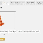 WP Maintenance : page des images
