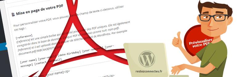 Send PDF for CF7