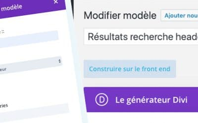 Divi : Comment créer une page de résultats de recherche personnalisée